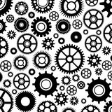 Gear Pattern. The pattern of different set of gears vector illustration