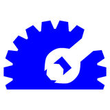 Gear Repair logo Stock Photo