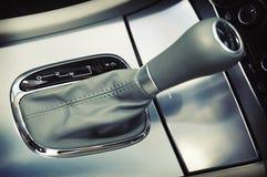 Gear Selector. Retro effect of a gear selector of a luxury sedan Stock Photos