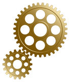 Gear set. Royalty Free Stock Photos