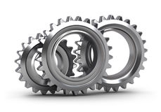 Gear set isolated Royalty Free Stock Photography