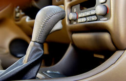 Gear shift Stock Images