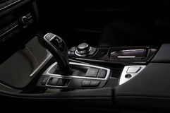 Gear shift in car. Royalty Free Stock Photography