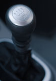 Gear shift handle Royalty Free Stock Photo