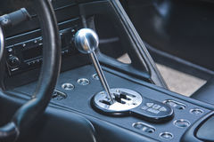 Gear shift lever Royalty Free Stock Photos
