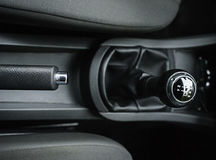 Gear shift lever Stock Image