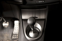 Gear shifter Royalty Free Stock Image
