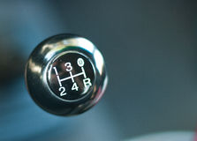 Gear shift. Er for a automobile Royalty Free Stock Photos