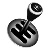 Gear shifter Royalty Free Stock Photography