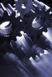Gear silhouettes Stock Images