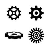 Gear. Simple Related Vector Icons Royalty Free Stock Photo