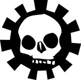 Gear Skull #1 Royalty Free Stock Images