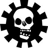 Gear Skull #2 Royalty Free Stock Image