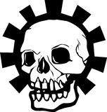 Gear Skull Halo Stock Images