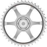 Gear steel Stock Photo