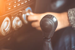 Free Gear Stick For The Manual Transmission Car Royalty Free Stock Photos - 96223318