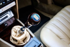 Gear Stick Stock Photo