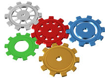 Gear system Royalty Free Stock Images