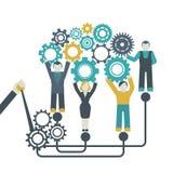 Gear Teamwork Concept Stock Photos