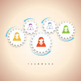 Gear Teamwork Concept Royalty Free Stock Images