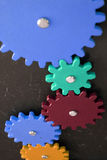 Gear Teeth Meshing Stock Image