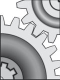 Gear toothing Royalty Free Stock Photo