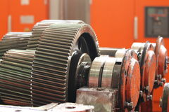 The gear train Stock Photography