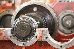 The gear train Stock Photos