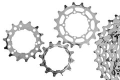 Gear transmission Royalty Free Stock Images
