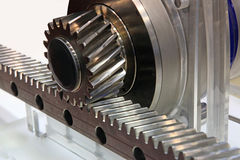 Gear transmission Royalty Free Stock Image