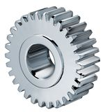 Gear turning Stock Image