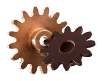 Gear unit parts Royalty Free Stock Photography
