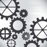Gear vector Stock Image