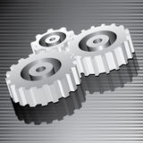 Gear vector Royalty Free Stock Photo