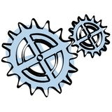 Gear vector Royalty Free Stock Photos