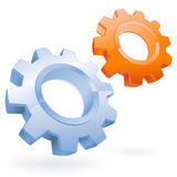 Gear vector icon Stock Photography