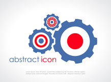 Gear vector icon Stock Images
