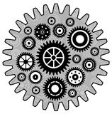 Gear wallpaper background Royalty Free Stock Image