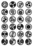 Gear wallpaper background Stock Photos