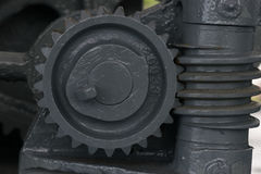 Gear warship group ,. The cog of Thai warship , in World War II time Royalty Free Stock Photos