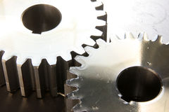 Gear Whee. Old rusty heavy industrial machine gear cogwheel Royalty Free Stock Photography