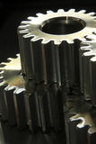 Gear Whee. Old rusty heavy industrial machine gear cogwheel Stock Photo