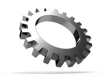 Gear wheel. Isolated on white background Royalty Free Stock Image