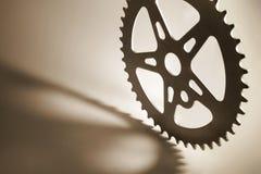 Gear Wheel. In Sepia Tone Stock Image