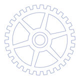 Gear wheel royalty free illustration