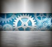 Gear wheel abstract background. Vector illustration royalty free illustration
