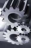 Gear-wheel blues Royalty Free Stock Photos