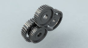 Gear wheel cog stock illustration