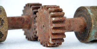 GEAR WHEEL COG Stock Image