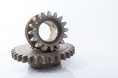 Gear Wheel. Cogwheel for replacement auto parts to improve the car Royalty Free Stock Photo